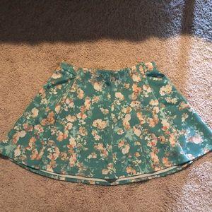Floral Skater Skirt 🌼🌺🌸